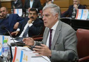 Gutiérrez defendió la nueva toma de deuda (USD 500 M) para financiar obra pública