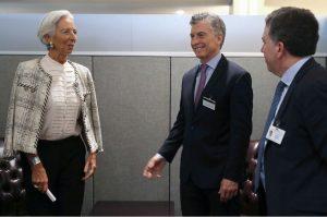 La oficina del FMI funcionará dentro del Banco Central