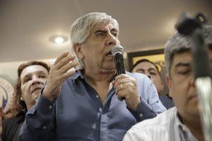 «El problema para los argentinos es Macri, no Cristina», aseveró Moyano