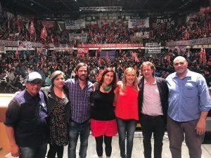 En acto de la Izquierda, Del Caño demandó que la crisis la paguen los «ajustadores» y no el pueblo trabajador