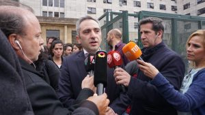 """Comodoro Py pretende definir el """"modelo de país"""", afirmó Larroque"""