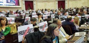 Al expresar su rechazo, el kirchnerismo habla de un «Presupuesto del Ajuste»