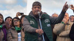 Al apuntar contra el Gobierno, Pablo Moyano afirmó que afronta una persecución política
