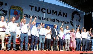 Día de la Lealtad: Desde Tucumán, voces críticas contra el Gobierno y llamado a la unidad del PJ