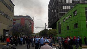 Luz y Fuerza se movilizó este lunes en rechazo a la «privatización» de EPEC