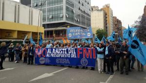 La UEPC y otros gremios rechazaron el «Presupuesto del Ajuste»