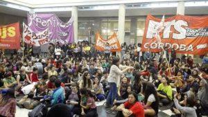 Fuerte rechazo de la Izquierda a la imputación de estudiantes de la toma del Pabellón Argentina