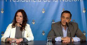 Ministros del Gabinete macrista con mensaje a Carrió