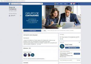 Organismo recaudador lanzó «Grupo Contadores» un espacio de interacción