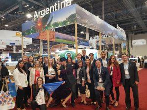 Argentina dijo presente en IMEX América, Las Vegas