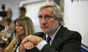 """""""No vamos detrás de los sindicalistas, sino de los corruptos"""", afirmó Conte Grand"""