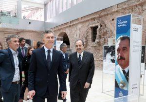 En homenaje a Alfonsín, Macri abogó por una «Argentina unida»