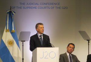Macri aseguró que la Argentina está «fuertemente» comprometida en la lucha contra la corrupción
