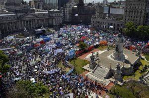 Habrá marchas de protesta al Congreso contra el Presupuesto 2019