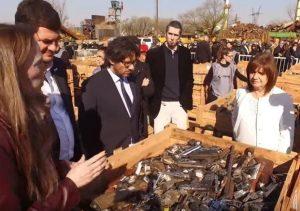 Luego de los polémicos dichos de Bullrich, el Gobierno destina $113 millones en fomentar el desarme