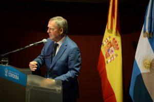 Schiaretti y Mestre en España, pero con agendas distintas