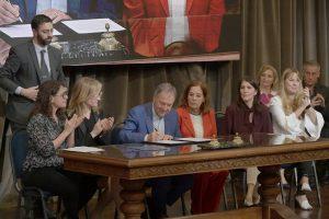 Schiaretti a favor de «dar un salto» en la participación igualitaria de la mujer en política
