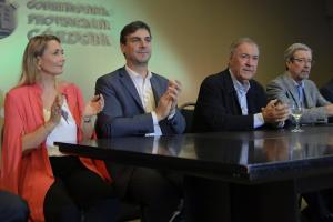 Schiaretti destacó la apuesta de industriales autopartistas para «continuar avanzando»