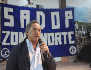 Elecciones: Scioli se anota para enfrentar a Macri y dice que «hay otro camino»