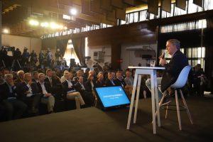 Junto a Macri, Schiaretti planteó la necesidad de que las Pymes empiecen a exportar