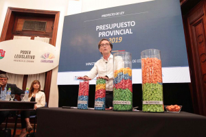El Presupuesto 2019 de Schiaretti con el foco puesto en el gasto social a raíz de la crisis