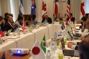 El Grupo Mundial del Comercio del Vino se reúne en Neuquén