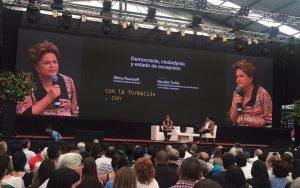 Para Dilma, Brasil corre el riesgo de entrar «en la variante neoliberal de un neofascismo»
