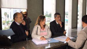 Grababus: Triunvirato opositor va a la Justicia para que se investigue a funcionarios