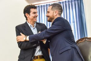 """Junto al intendente Gil, Urtubey afirmó que """"hay que construir un federalismo vibrante desde el interior"""""""