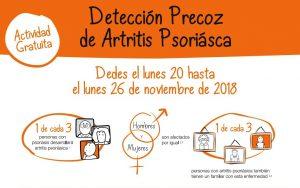 Campaña de detección gratuita de artritis psoriásica en Córdoba