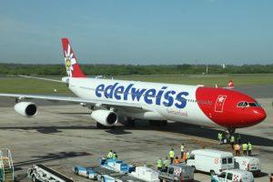 Primer vuelo de Zurich a Buenos Aires operado por Edelweiss