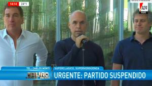 «Son la mafia del fútbol argentino», así apuntó Larreta contra los barras por los ataques en la superfinal