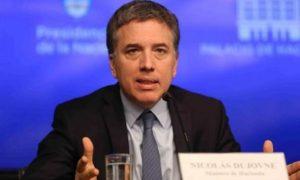 La Argentina «está terminando de superar la crisis», señaló Dujovne