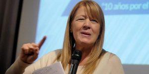 "Stolbizer responsabilizó a Macri de que Cristina Kirchner ""pueda volver"""