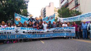 Masiva marcha en contra de los tarifazos y en defensa de la EPEC estatal e integrada
