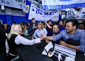 Para Bertone, el PJ debe «llegar a un acuerdo» con Cristina Kirchner