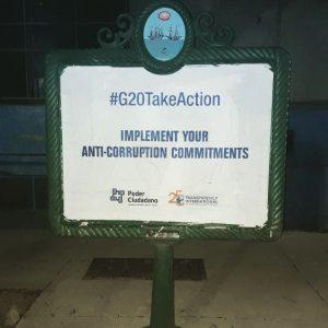 Cumbre G20: Transparencia Internacional y Poder Ciudadano con mensaje anticorrupción