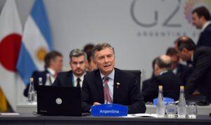 """Cumbre G20: Macri llamó a """"crecer con inclusión y en equilibrio con el medio ambiente"""""""