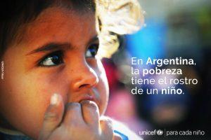 Según Unicef, el 48% de los niños y adolescentes en Argentina es pobre
