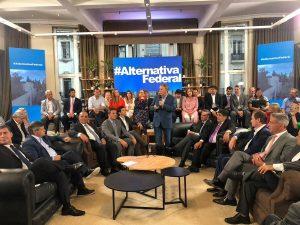 Alternativa Federal redobló la crítica contra el Gobierno de Macri y el pasado K