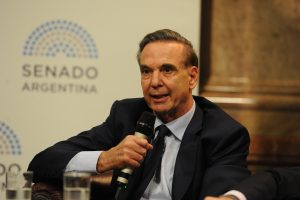 Pichetto afirmó que la «la lucha contra el pasado (K)» es lo que le «conviene» al Gobierno