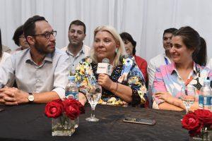 """Al advertir que hay """"corruptos"""" en la coalición, Carrió llamó a """"cambiar Cambiemos desde adentro"""""""