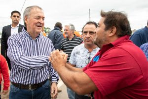 """Esta obra """"es progreso para los vecinos de la ciudad de Córdoba», afirmó Schiaretti"""