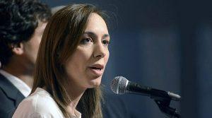 """""""No quiero ser gobernadora de Cristina"""", afirmó Vidal"""