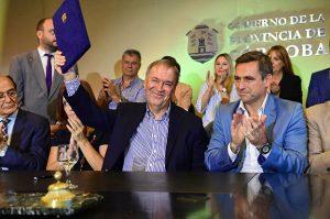 Tras firmar acuerdos con Schiaretti, Mestre destacó: «No somos enemigos»