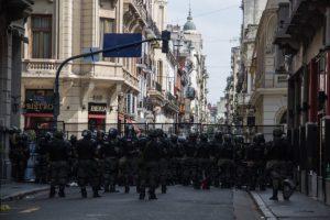 La justicia porteña declaró inconstitucional el protocolo policial de Bullrich