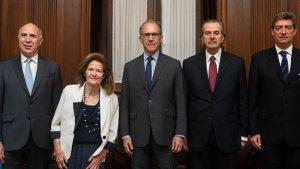 Interna en la Corte: tres ministros limitaron el poder del presidente Rosenkrantz