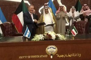 En Kuwait, Schiaretti acordó un crédito de USD 50 millones para construir 6 acueductos