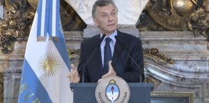 """Macri: «El mundo está comprometido con lo que nos pasa, con ayudarnos"""""""