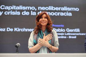 """CFK denunció que Milagro Sala sufre una """"brutal persecución"""""""